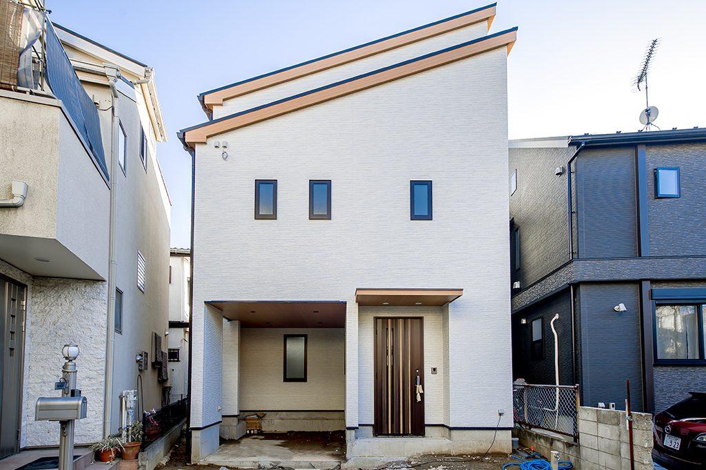 千葉県柏市あけぼの 新築一戸建て 外観