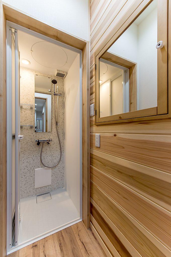 八千代市大和田新田 新築一戸建て 1階シャワールーム