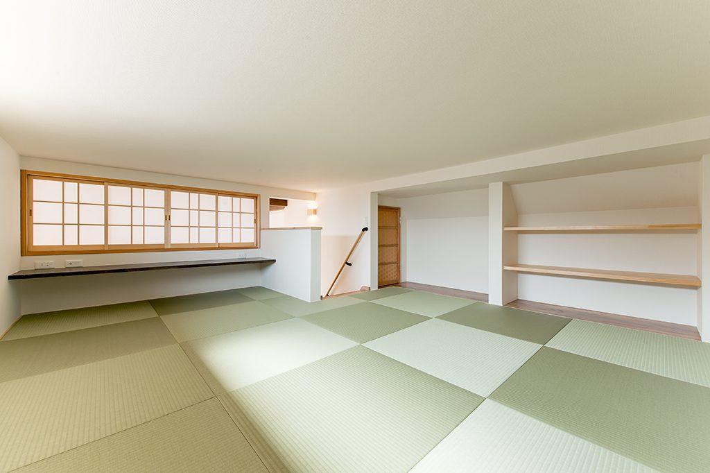 千葉県市川市東菅野 新築一戸建て ロフト琉球畳