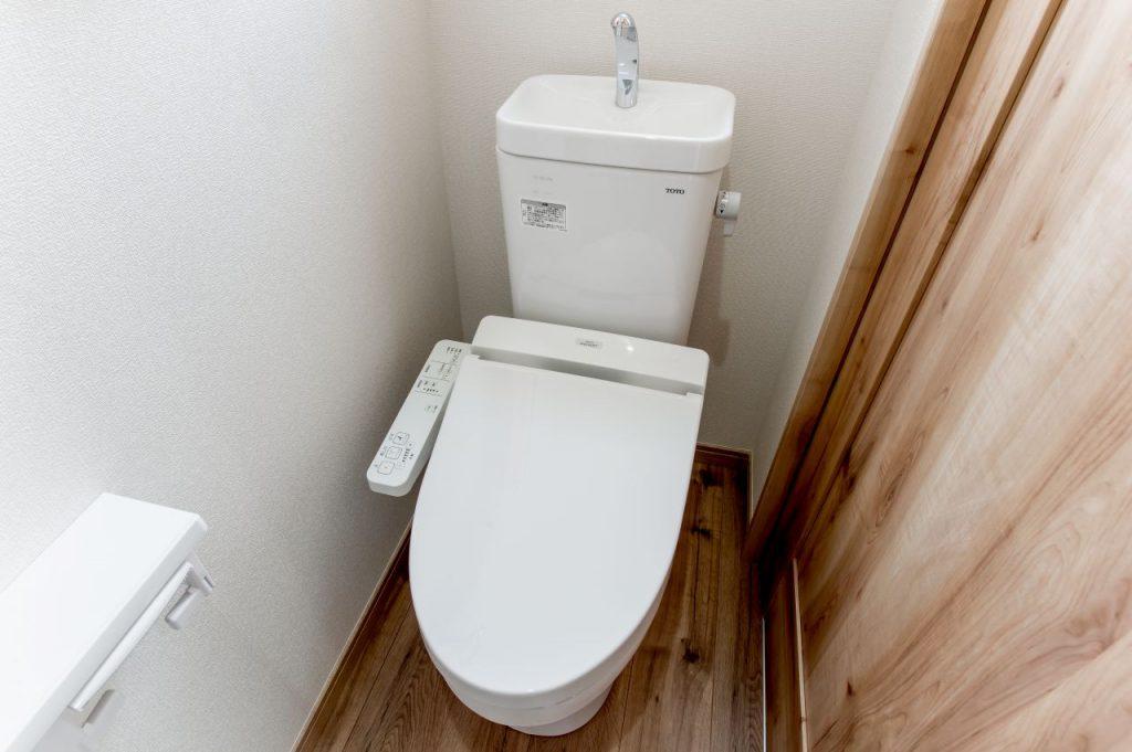 千葉県市川市南八幡 新築一戸建て トイレ
