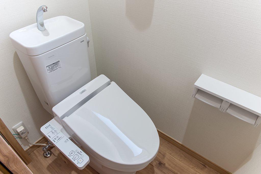 八千代市大和田新田 新築一戸建て トイレ
