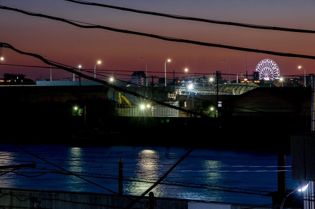 千葉県浦安市当代島 新築一戸建て 夜景