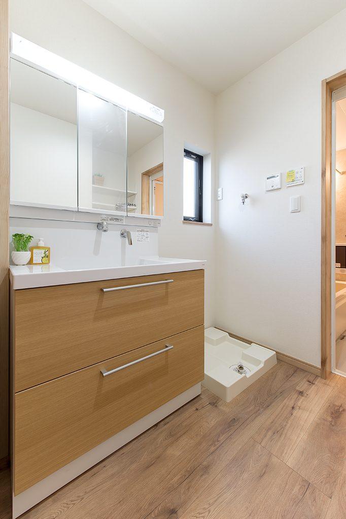 千葉県柏市あけぼの 新築一戸建て 洗面台