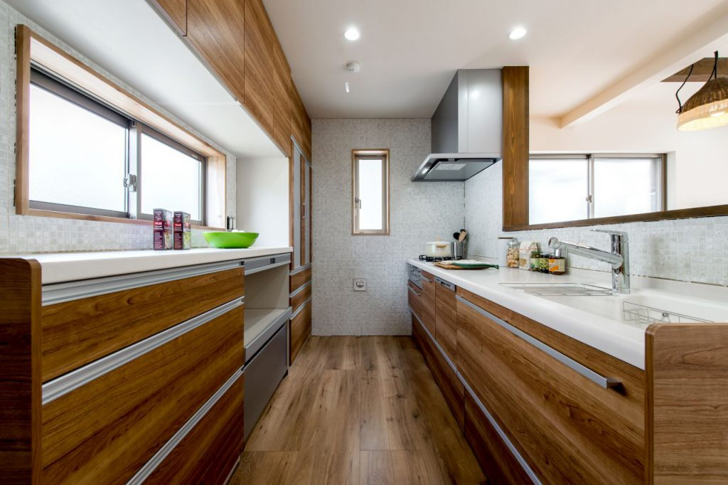 千葉県市川市南八幡 新築一戸建て キッチン
