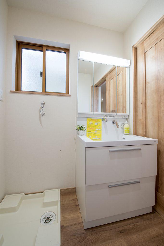 千葉県流山市西初石 新築一戸建て 洗面化粧台