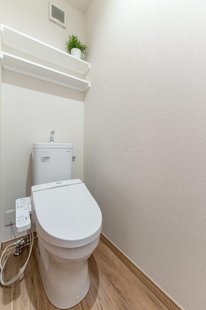 千葉県柏市あけぼの 新築一戸建て トイレ