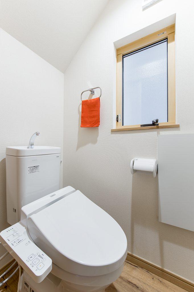 千葉県市川市市川南4丁目 新築一戸建て トイレ
