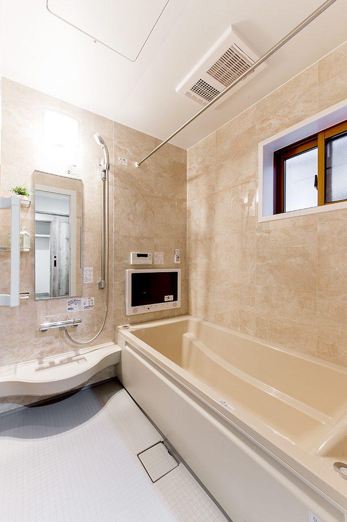 千葉県千葉市花見川区検見川町 新築一戸建て 浴室