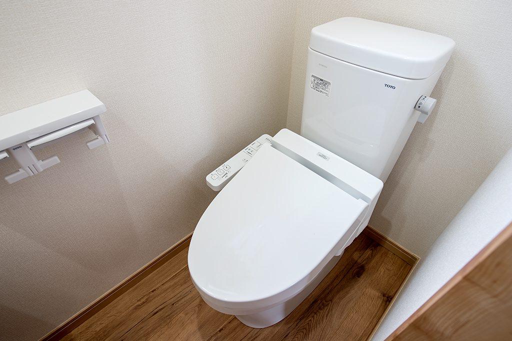 千葉県市川市柏井町 新築一戸建て トイレ
