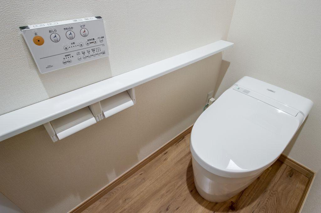 千葉県市川市菅野 新築一戸建て トイレ