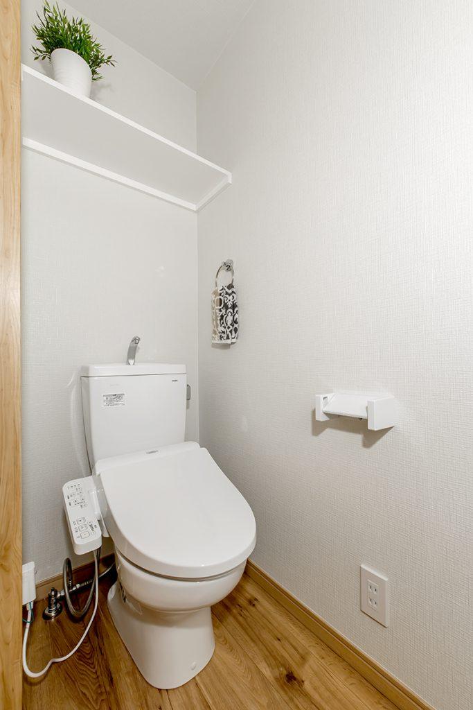 賃貸アパート「庵」(東西線 南行徳駅 徒歩8分)市川市福栄 トイレ