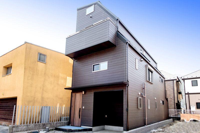 千葉県市川市 新田三丁目住宅A棟 施工実績 一戸建て01 外観