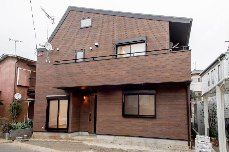 千葉市花見川区 南花園一丁目住宅B棟 一戸建て 施工実績 001 外観