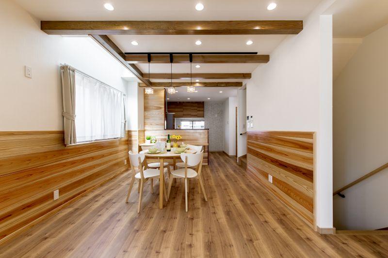 千葉県市川市 新田三丁目住宅A棟 施工実績 一戸建て 03 リビング