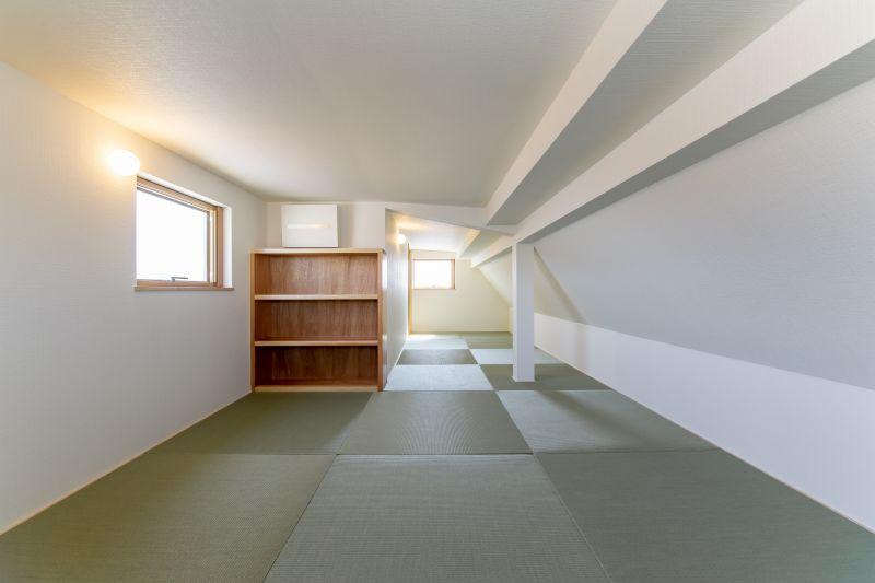 千葉県市川市 新田三丁目住宅A棟 施工実績 一戸建て09 ロフト空間