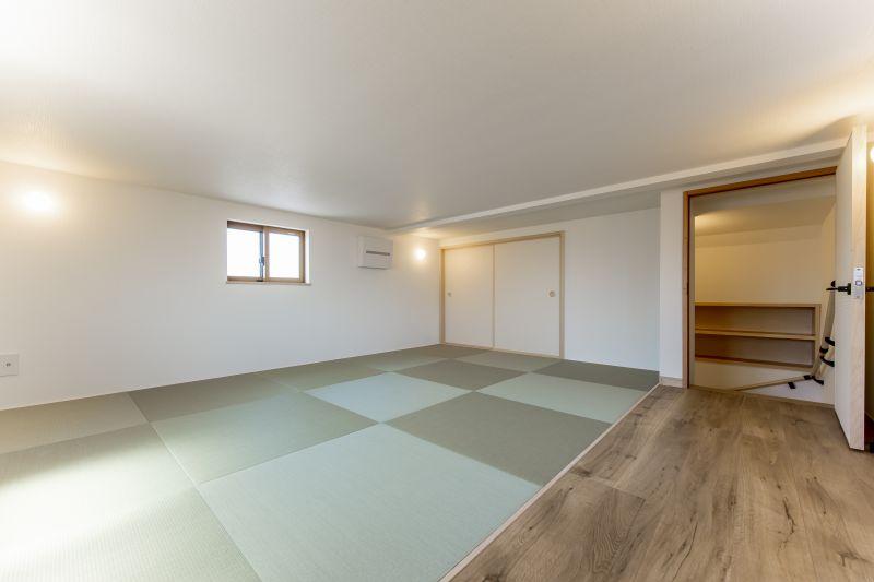 千葉県市川市 新田三丁目住宅C棟 一戸建て 施工実績 009 ロフト空間